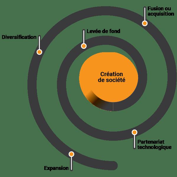 Le dépôt et le cycle d'innovation d'une société