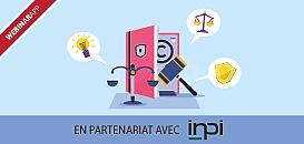 Visuel webinar avec l'INPI